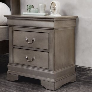 Review Lisle 2 Drawer Nightstand by Lark Manor