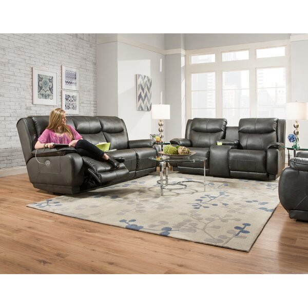 Velocity Reclining 2 Piece Living Room Set by Southern Motion