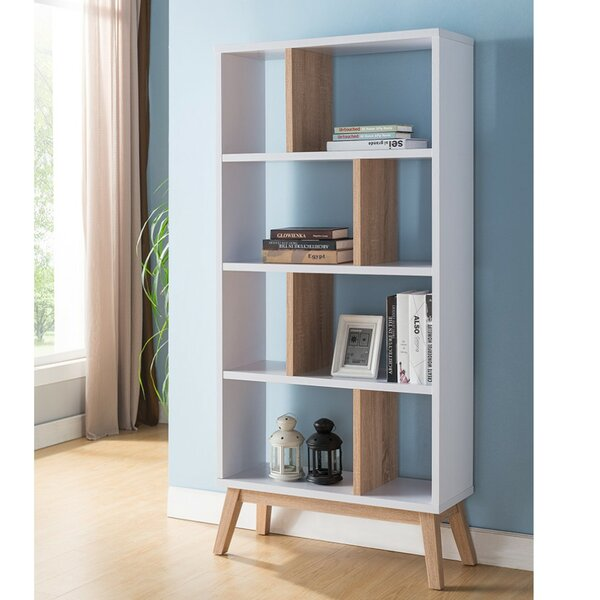 Hodge Display with 4 Shelves Standard Bookcase by Wrought Studio