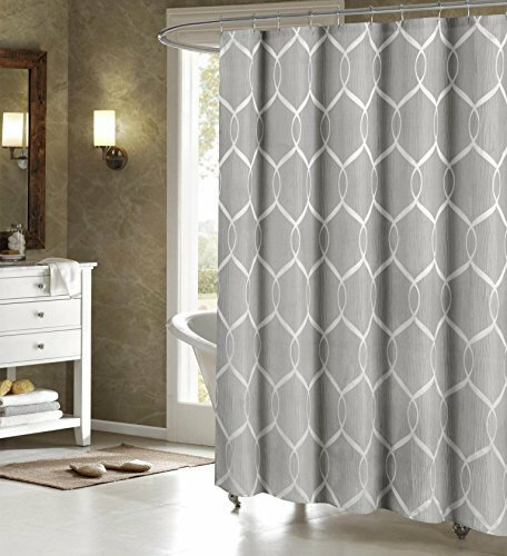 Holcomb Wrinkle Wave Fabric Shower Curtain by Darb