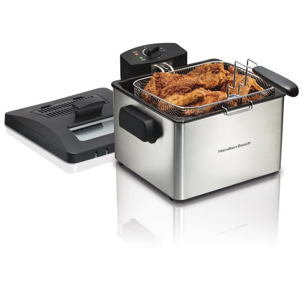 5 Liter Professional Deep Fryer By Hamilton Beach.