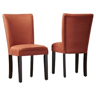 Best Price Willington Parsons Chair (Set of 2) By Alcott Hill