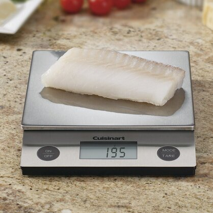 Deluxe Digital Kitchen Scale by Cuisinart