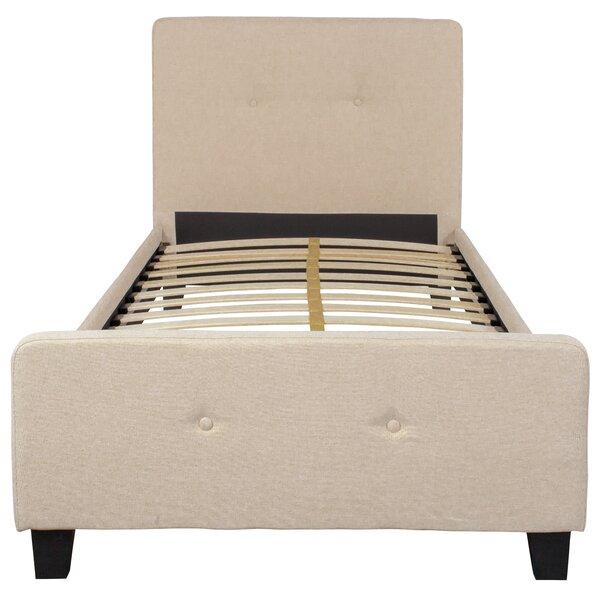 Pitre Tufted Upholstered Platform Bed by Ebern Designs