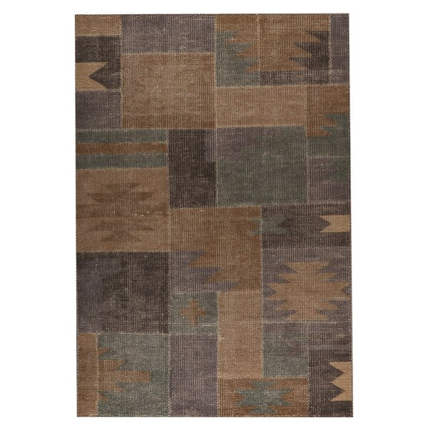 Lina classic Hand-Woven Silver Sage Area Rug by M.A. Trading