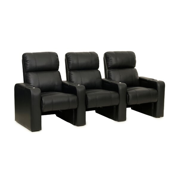 Contemporary Home Theater Row Seating (Row Of 3) By Latitude Run