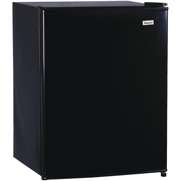 2.4 cu. ft. Compact Refrigerator with Freezer by Magic Chef
