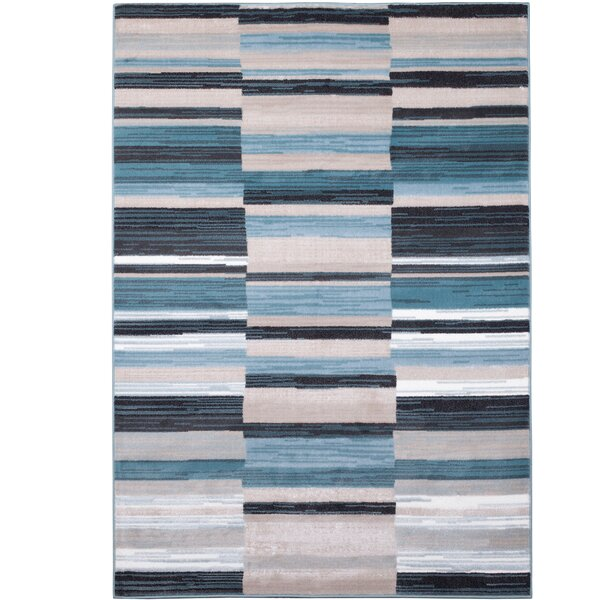 Dexter Blue/Gray Area Rug by Latitude Run