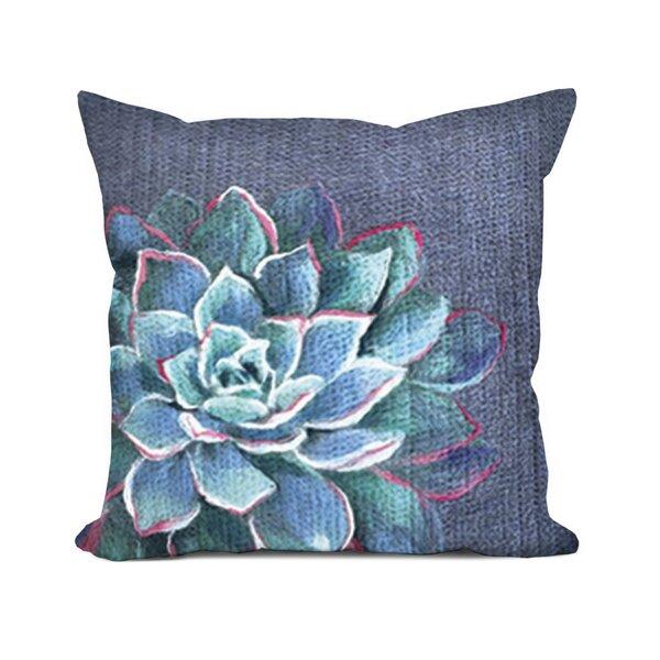 Masie Succulent Lumbar Pillow