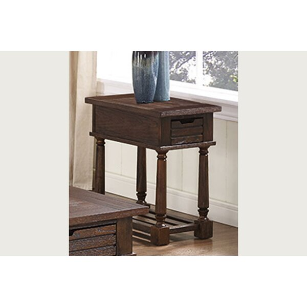 Mcclellan End Table With Storage By Gracie Oaks
