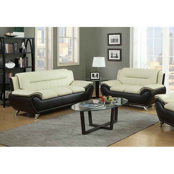 Blevins Contemporary 2 Piece Living Room Set by Orren Ellis