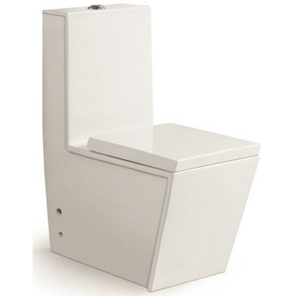 Aqua Dual Flush Rund One-Piece Toilet by Morenobath