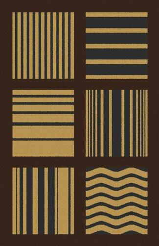 Bontrager Brown Area Rug by Ebern Designs