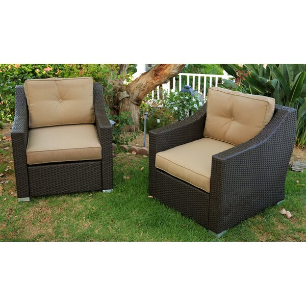 Tampa 2 Piece Seating Group with Cushions by World Wide Wicker