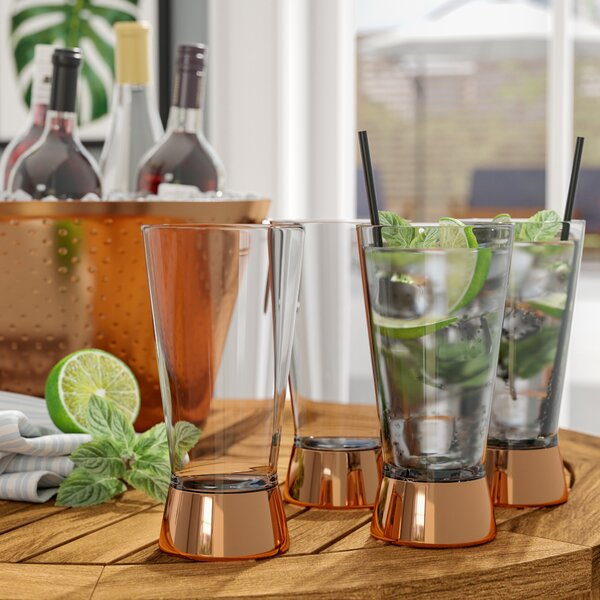 Gage Highball Glass (Set of 4) by Mint Pantry