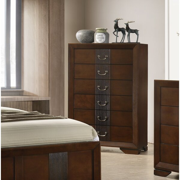 Foote 6 Drawer Chest by Winston Porter