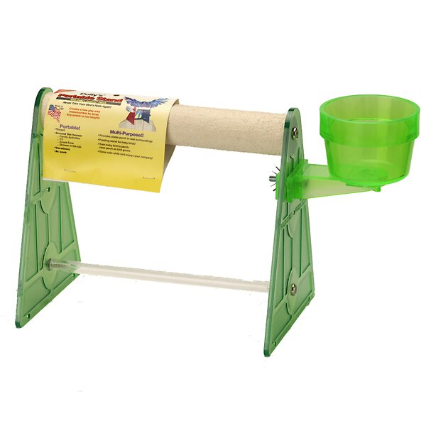 Small Portable Stand by Polly's Pet Products, Inc.
