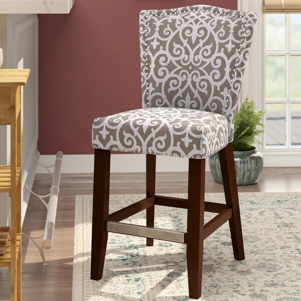 Lisbon 24.5 Bar Stool by Darby Home Co