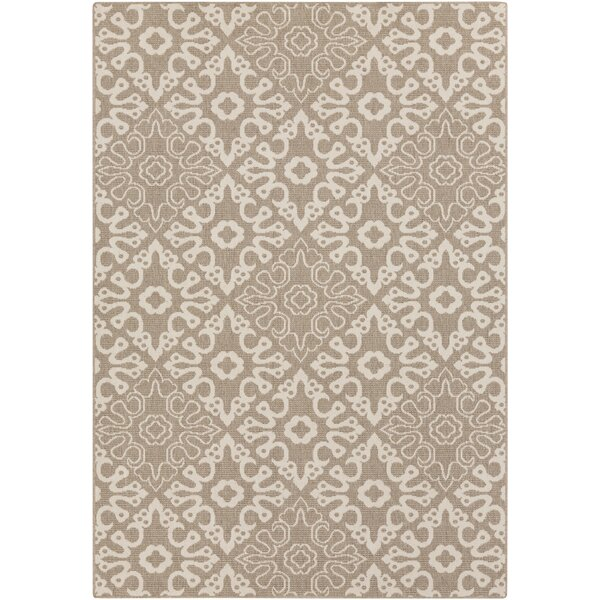 Lydia Natural Indoor/Outdoor Rug by Birch Lane™