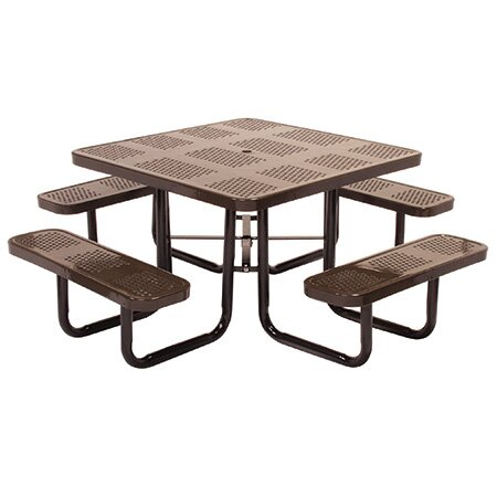 Modena Metal Picnic Table by Leisure Craft Leisure Craft