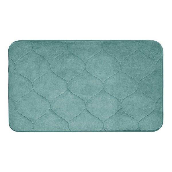 Leander Micro Plush Memory Foam Bath Mat by Andover Mills