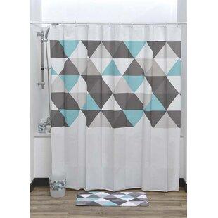 Nordik Printed Liner Shower Curtain