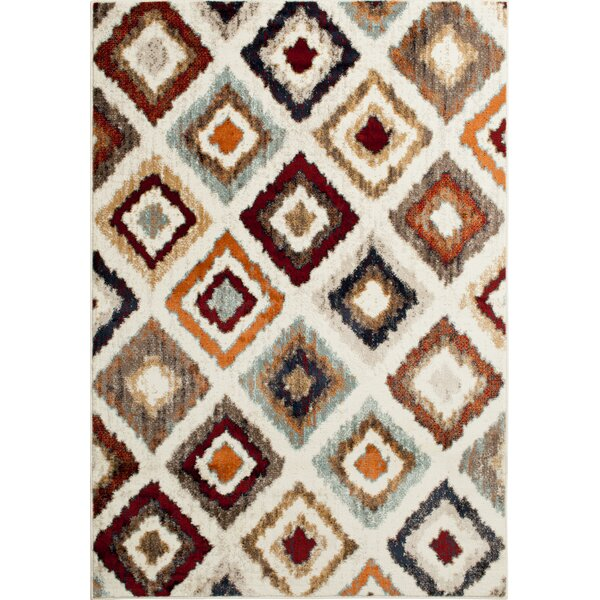 Rattlesnake Hill Tuscon Ivory Area Rug by Bungalow Rose