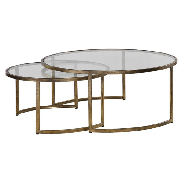 Nicklas 2 Piece Coffee Table Set by Brayden Studio