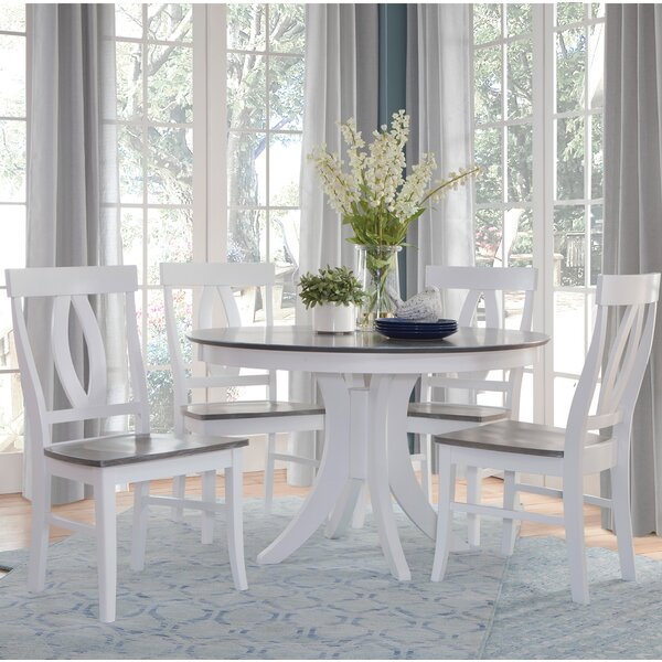 5 Piece Solid Wood Dining Set By Sedgewick Industries Great price