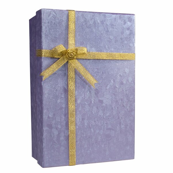 Gift Box Safe with Key Lock by Barska