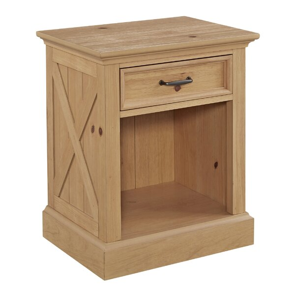 Belmar 1 Drawer Nightstand by August Grove