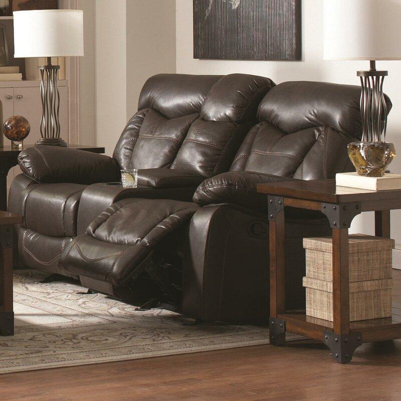 Pomona Motion Leather Reclining Sofa
