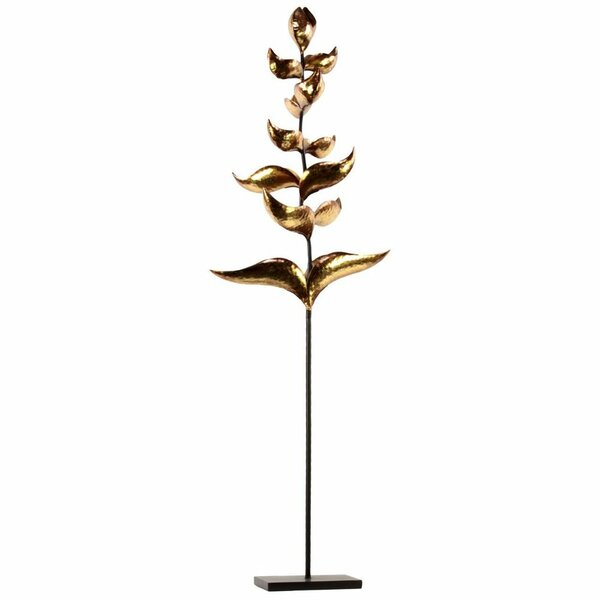 Plant Metal Candelabra with Flat Base by Bloomsbury Market