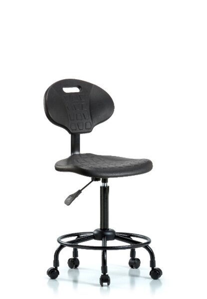 Kenna Round Tube Base Ergonomic Office Chair by Symple Stuff
