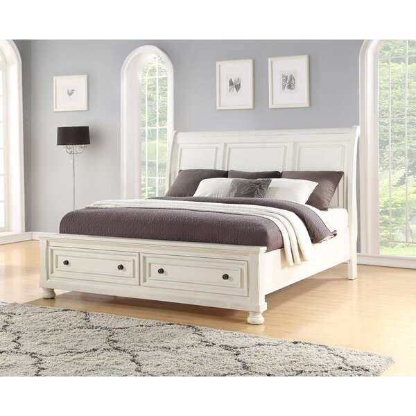 Elkland Sleigh Bed by Darby Home Co