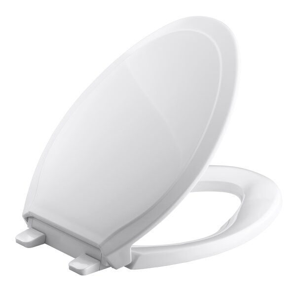 Rutledge Quiet-Close with Grip-Tightelongated Toilet Seat by Kohler