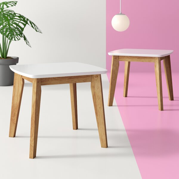 Hysley Modern End Table (Set Of 2) By Hashtag Home
