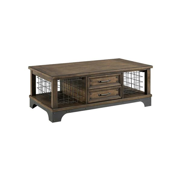Oday Coffee Table with Storage by Williston Forge
