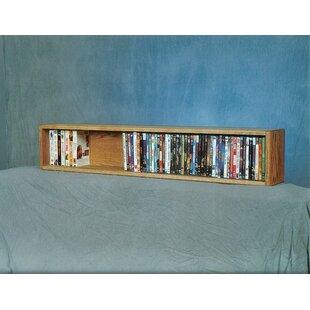 88 DVD Multimedia Tabletop Storage Rack