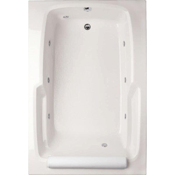 Designer Duo 66 x 42 Whirlpool Bathtub by Hydro Systems