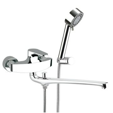 Single Handle Wall Mounted Tub Only Faucet with Ha