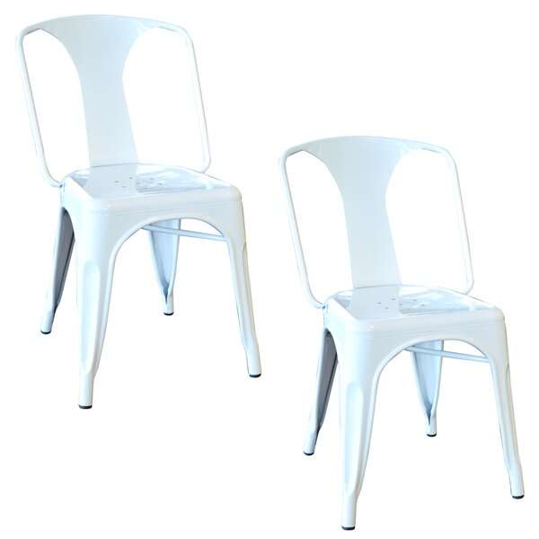 Racheal Metal Side Chair (Set of 2) by Trent Austin Design