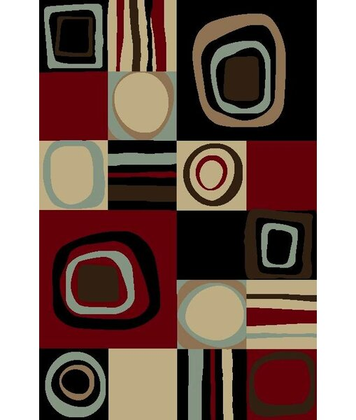 Chapman Black Area Rug by Red Barrel Studio