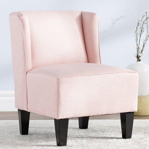 Landon Winged Slipper Chair by Mistana