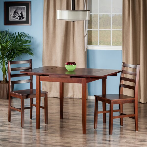 Shaws 3 Piece Dining Set by Alcott Hill