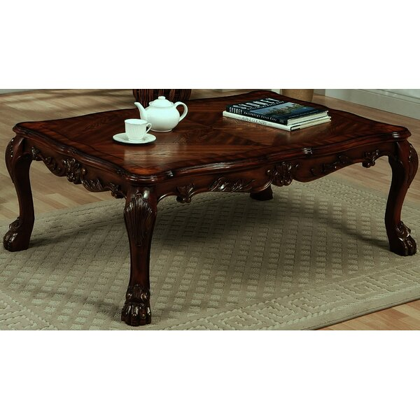 Tobin Coffee Table by Fleur De Lis Living