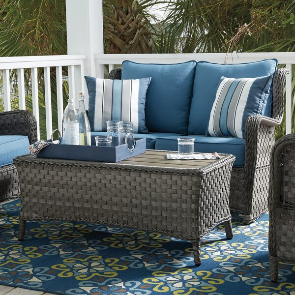 Nita 2 Piece Loveseat Set with Cushions by Beachcrest Home