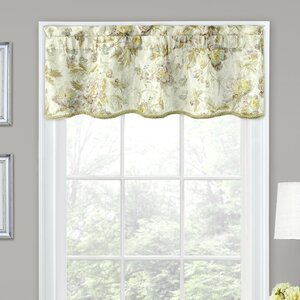 Forever Yours Floral 52″ Curtain Valance