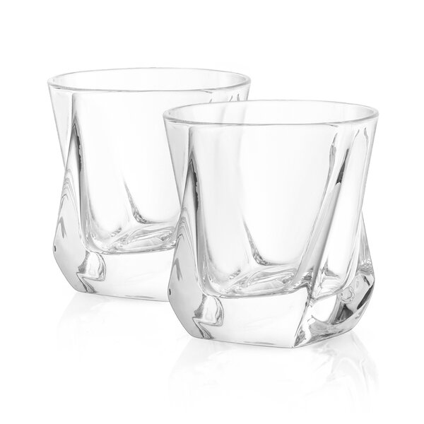 Aurora Crystal 8.1 oz. Cocktail Glass (Set of 2) by JoyJolt
