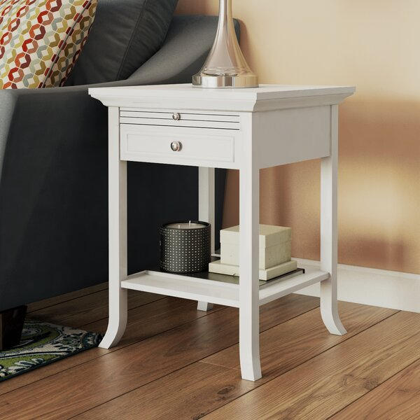 End Table With Storage by Andover Mills